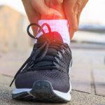 sprains ankle pain